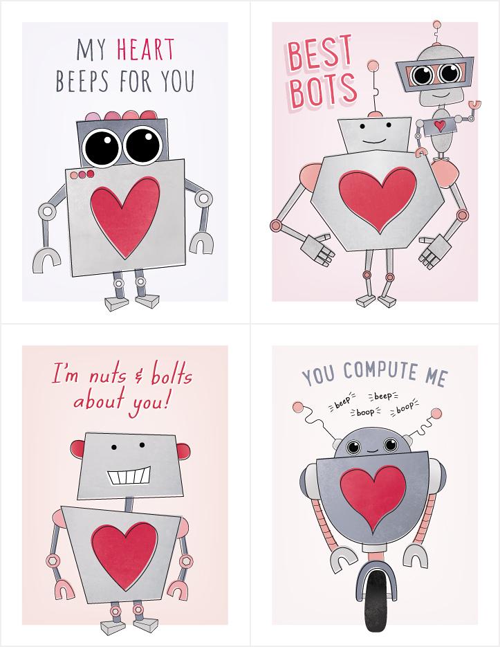 Download Free Printable Kids Valentines | Hooray Creative